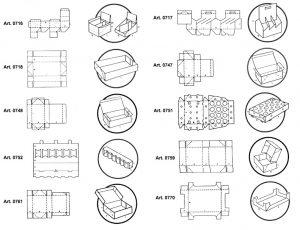 Espositori e vassoi fustellati - scatole GIFCO