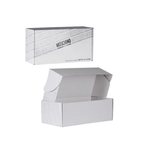 scatole accoppiate Moschino