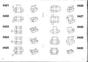 Scatole fustellate automontanti - scatole GIFCO