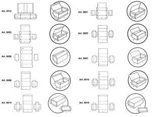 Scatole rigide preincollate - scatole GIFCO