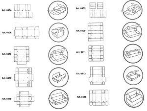 Scatole tipo wrap-around - scatole GIFCO