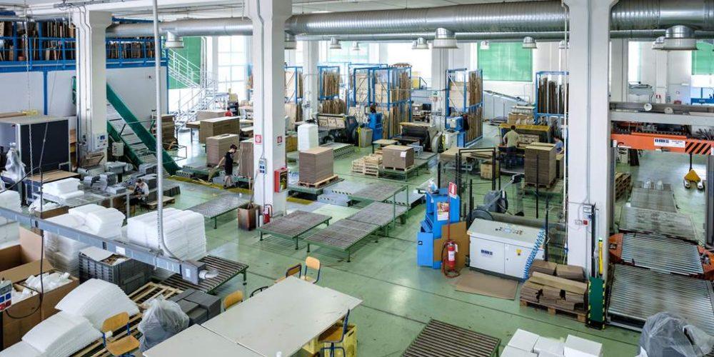 produzione cartone ondulato