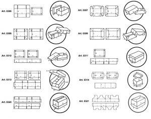 Scatole fondo coperchio senza e preincollaggio - scatole GIFCO