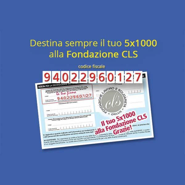 5x1000 fondazione CLS